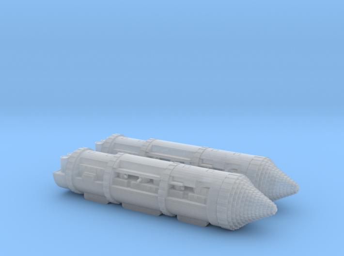 German Class 1 Terranef Half Company 3d printed