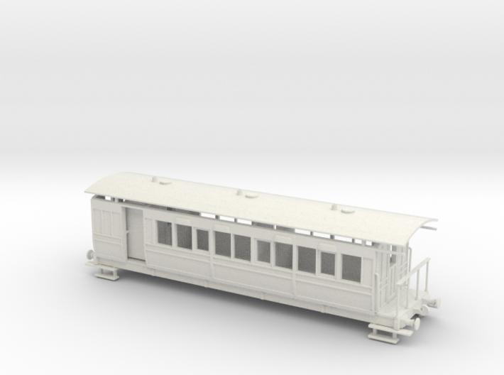 Selsey Tramway Falcon bogie coach brake 00 Gauge 3d printed