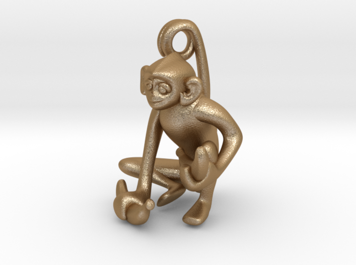 3D-Monkeys 169 3d printed