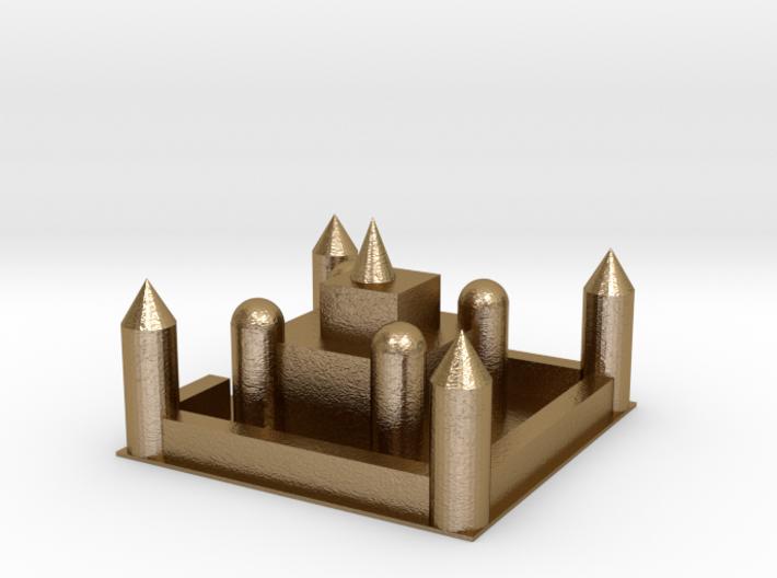 104102321城堡 3d printed