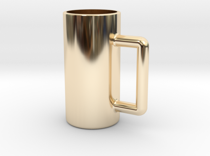 Excessive drinking cup 3d printed
