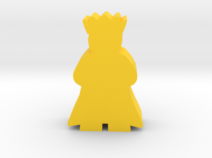 Game Piece, King with cape 3d printed