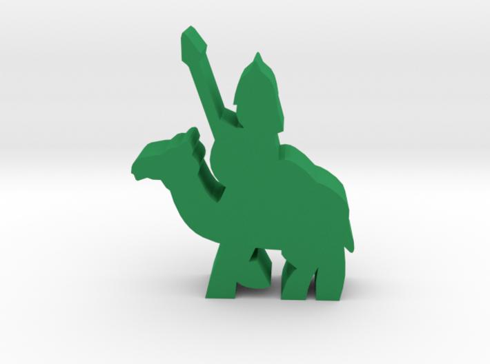 Game Piece, Saracen Spearman On Camel 3d printed