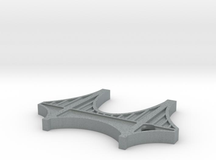 Bridge Keychain 3d printed