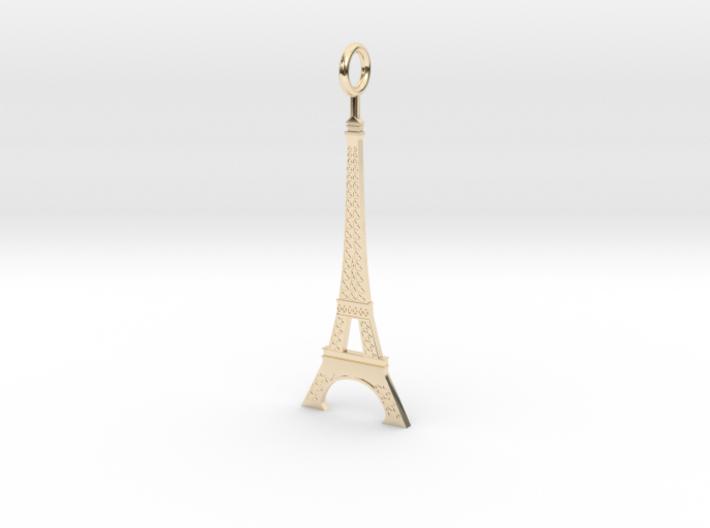 Eiffel Tower Pendant 3d printed