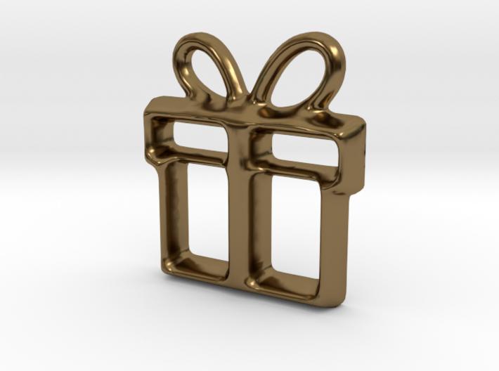 Present Pendant 3d printed