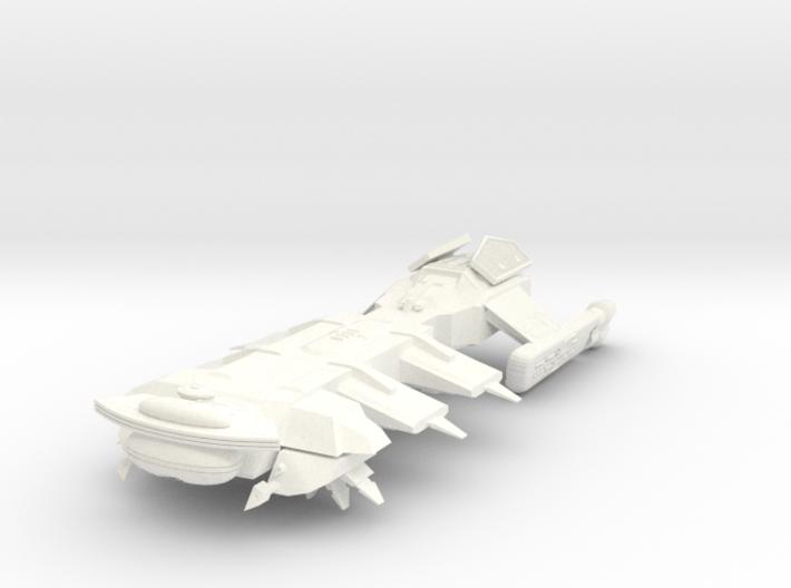 Klingon Troup Transport 3d printed