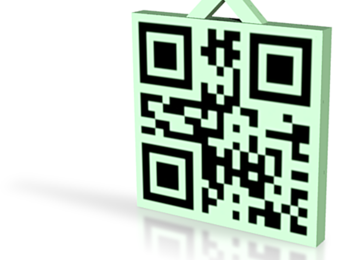 QRCode -- Test2 3d printed