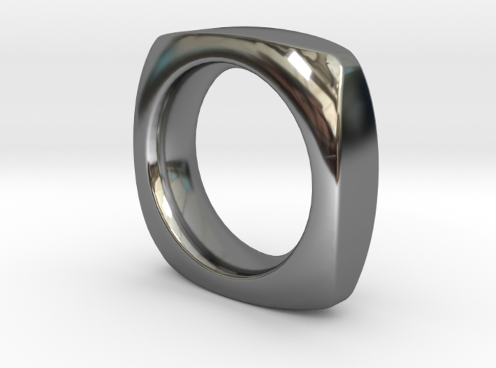 SIMPLE PILLOW RING SIZE 6 3d printed