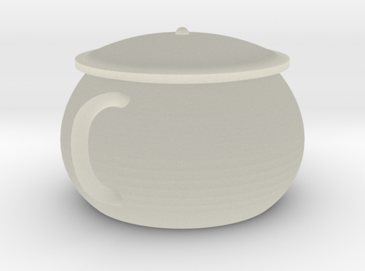 Chinese teapot 3d printed