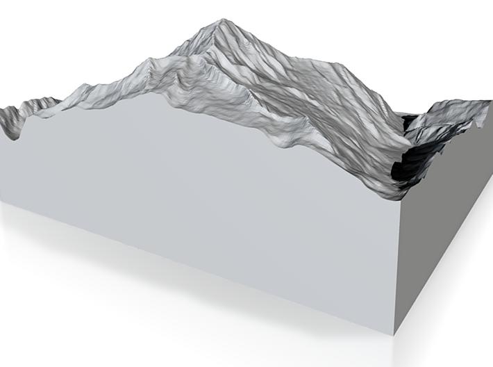 Model of Bristen 3d printed