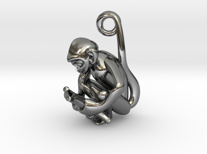 3D-Monkeys 338 3d printed