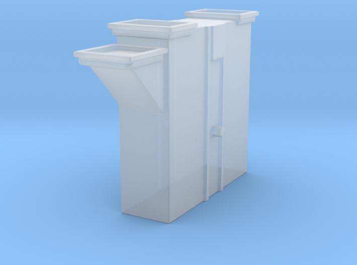 'N Scale' - Bucket Elevator-Boot 3d printed