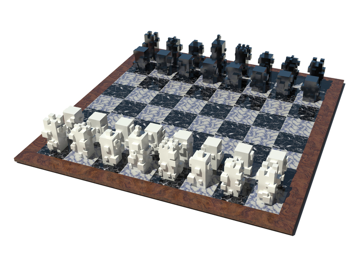 Cubic Chess - Bishop 3d printed