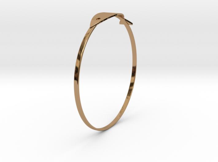 魚手環 3d printed