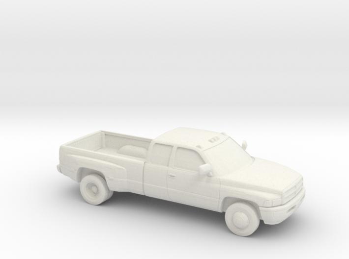 1/87 1994-01 Dodge Ram Extendet Cab Dually 3d printed
