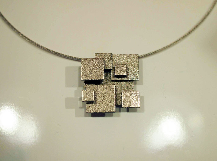Cubic Pendant small 3d printed