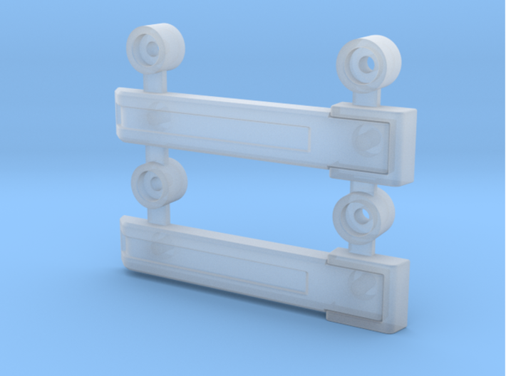 AJ10004 Rear Door Hinges (SCX10) 3d printed