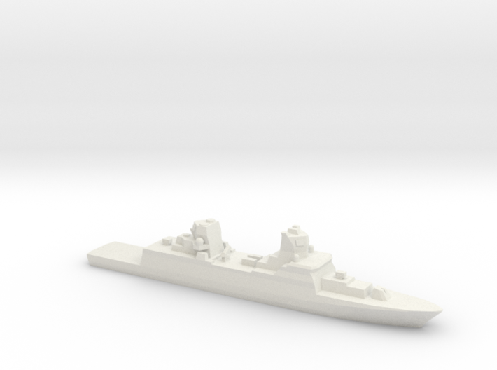 FGS F125 Class Frigate, 1/2400 3d printed