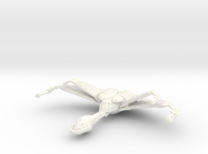 Hunter Class Bird Of Prey Wings Up 3d printed
