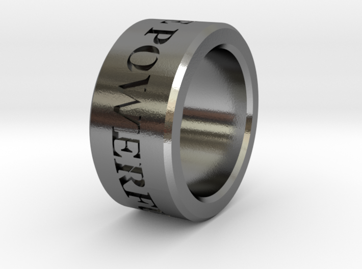 Boga Ring 3d printed