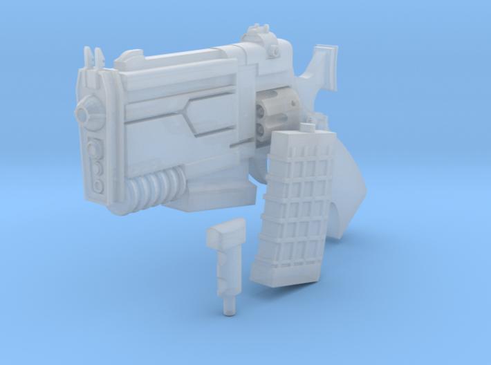 D Pool BIG A** SCIFI Blaster Gun Super Comic Hero  3d printed