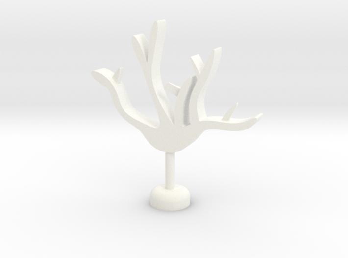 Branch Cup Hanger 3d printed