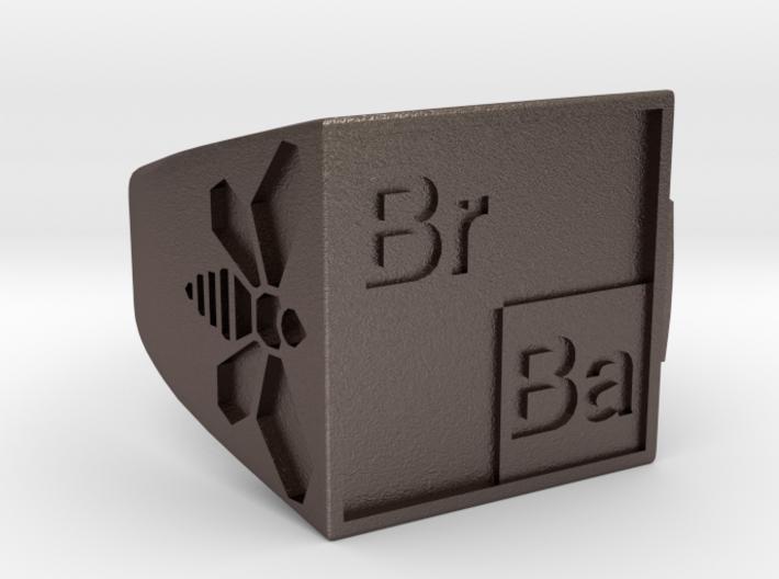 BrBa Bottle Opener Ring size 11 3d printed