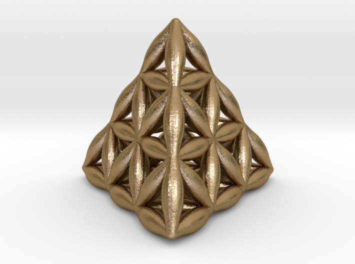 Flower Of Life Tetrahedron 3d printed