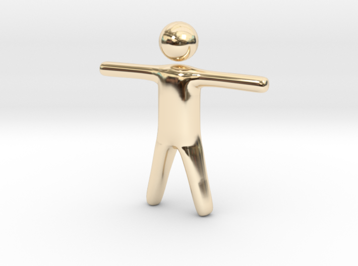 Stickman 3d printed