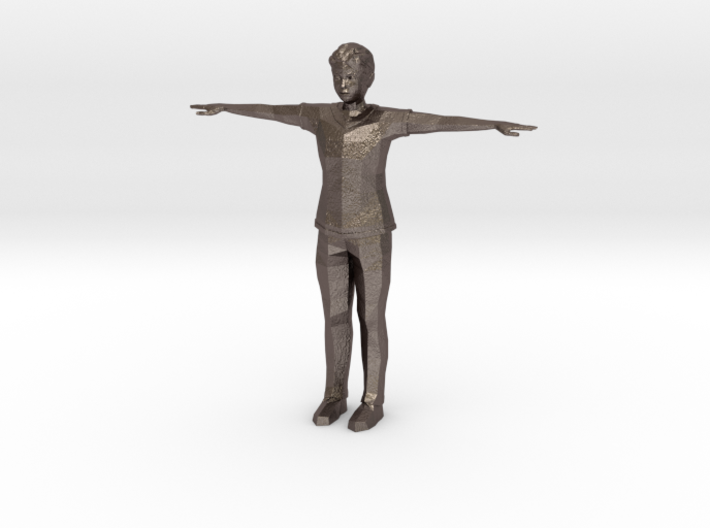 Low Poly Male 3d printed