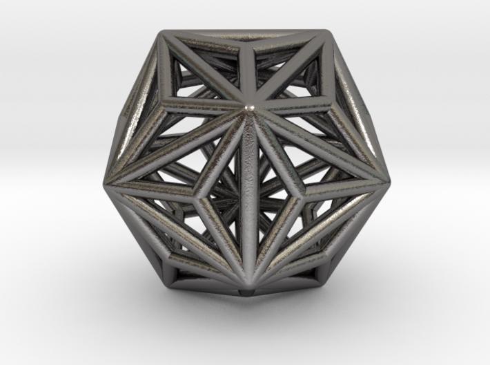 0334 Triakis Icosahedron E (a=1cm) #001 3d printed