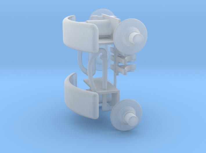 905-100 ZE AB 1-6 buffer lampen 3d printed