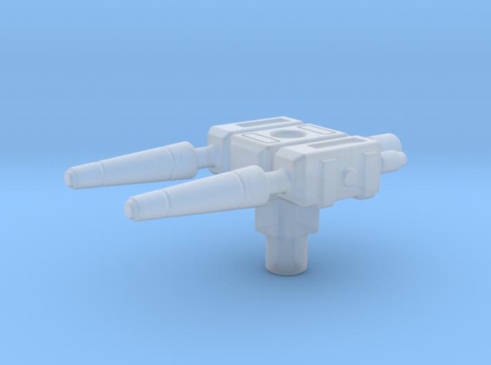 Megazord Lightspeed AquaRescue 2 water jets. 3d printed