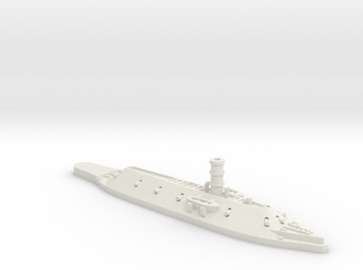 1:1200 CSS Virginia (USS Merrimack) 3d printed