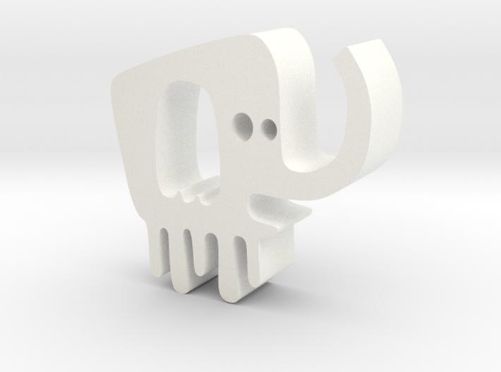 大象掛勾 3d printed