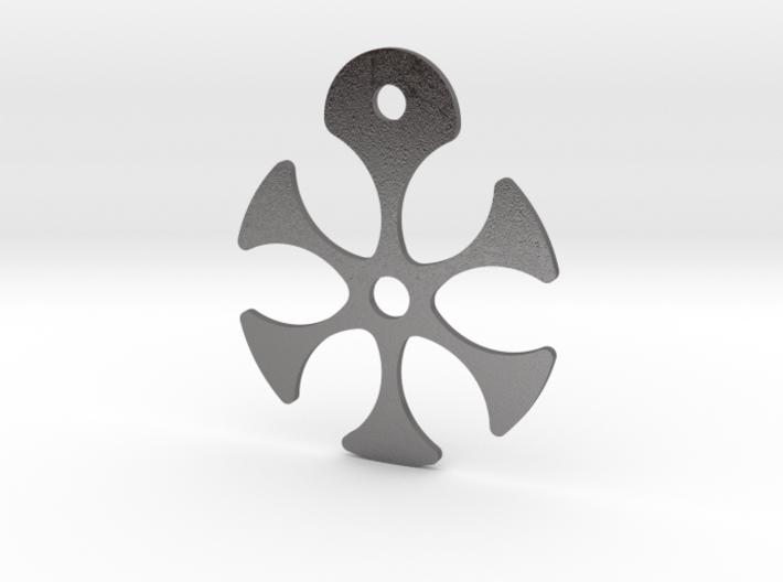 Flower Necklace - Part 2 - Metallic 3d printed