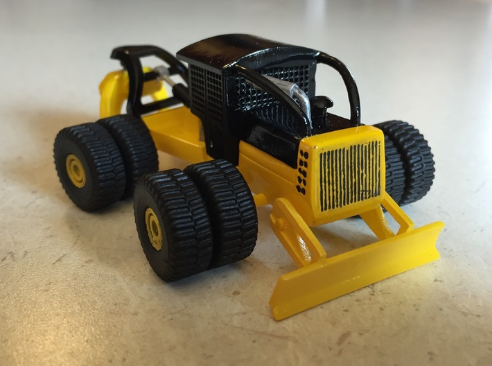 HO Scale Dually Equipment Wheels 3d printed