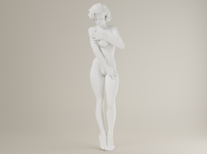 1:24 Short Haired Girl-021 3d printed