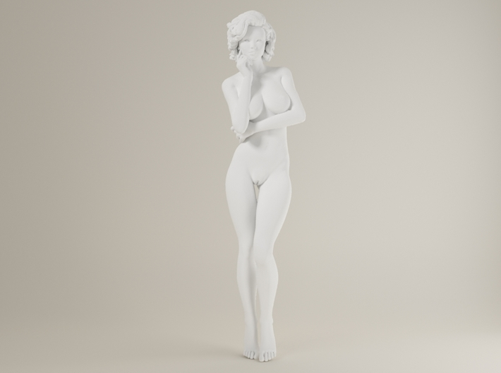 1:32 Short Haired Girl-010 3d printed