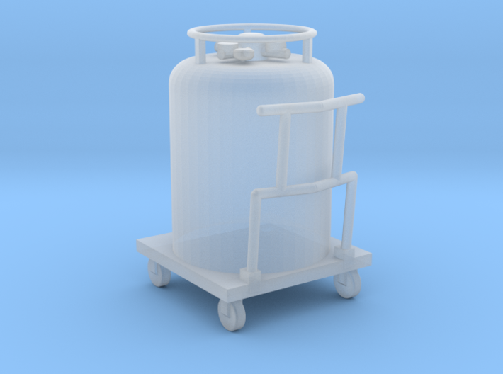 Cryogenic Gas Cylinder Accessory 3d printed