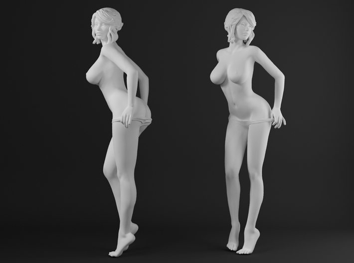 Panties girl 007 scale 1/32 Passed 3d printed