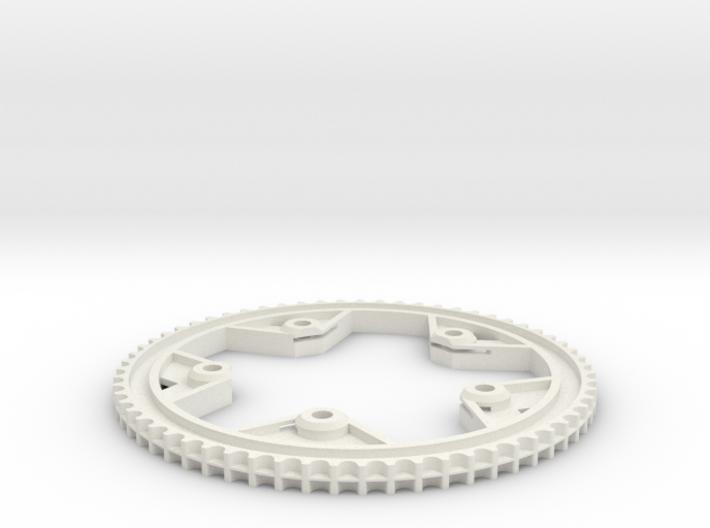 63T-11P centertrack beltwheel 3d printed