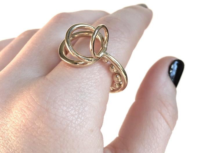 Series 1: Ring 1 3d printed size 8