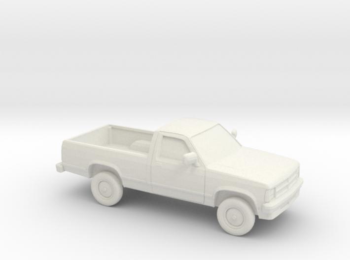 1/87 1987-90 Dodge Dakota 3d printed