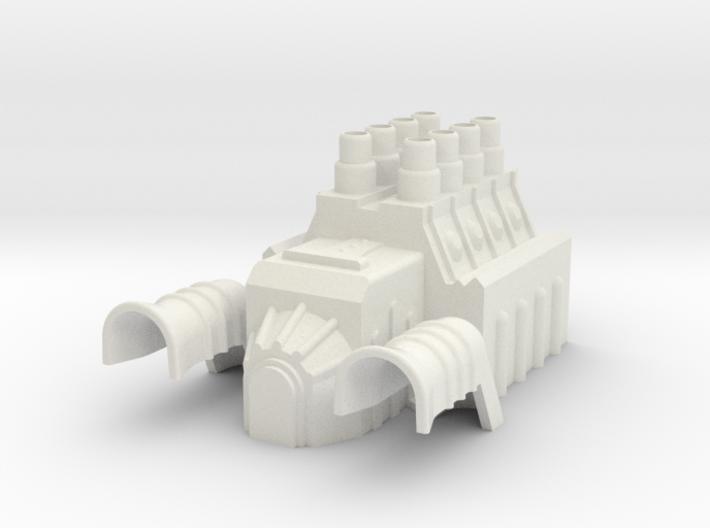 MST3K - Tom Servo Engine - Thick 3d printed