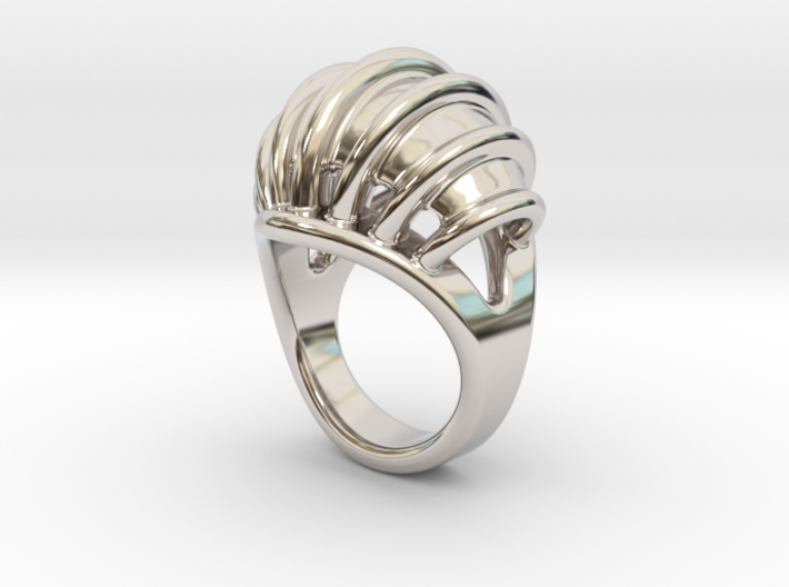 Ring New Way 15 - Italian Size 15 3d printed