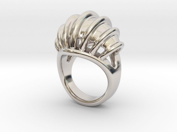 Ring New Way 17 - Italian Size 17 3d printed