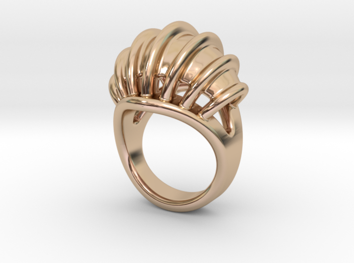 Ring New Way 23 - Italian Size 23 3d printed