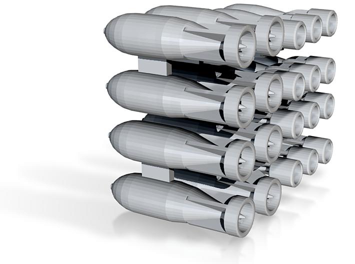 1/144 RAF Bombs 3d printed